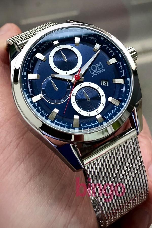 Tom Jones Kol Saati+Bileklik Hediye DKH4170